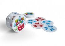 SNEAK PEEK spoločenská hra v plechovej krabičke 9x9cm STRAGOO