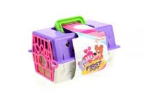 Přenosný box + zvířátko plast - mix variant či barev