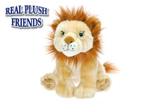 Lev plyšový 25 cm sediaci