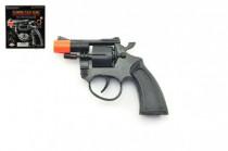 Pištoľ na kapsule 8 rán plast 13cm