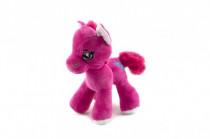 Kôň / koník plyš farebný 20cm