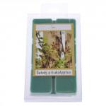 vosk vonný do aroma lampy šalvěj a eucalyptus (6ks) (hoří 22-25 hod)