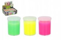 Sliz - hmota 110g plast 7cm - mix farieb