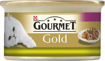 Gourmet Gold cat konz.-duš.a gril.k.králik a pečeň 85 g