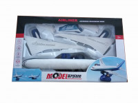 Skládací letadlo s funkcí simulovaného vzletu
