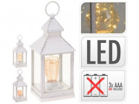 lucerna LED 23x10x10cm sklo / PH BI - mix variantov či farieb