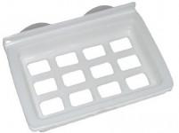 mydelnička obdĺžniková 12,5x8,5cm s prísavkami plastová - mix farieb