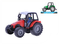 Traktor plast 16cm na setrvačník