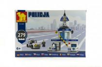 Stavebnica Dromader Polícia Stanice + Auto