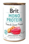 Brit Dog konz Mono Proteín Tuna & Sweet Potato 400g
