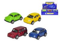 Auto kov 7 cm spätný chod - mix variantov či farieb