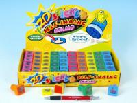 Pečiatky 2D - zvieratká 2,5x2,5cm - mix variantov či farieb - VÝPREDAJ