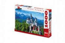 Puzzle Neuschweinstein 66x47cm 1000dílků
