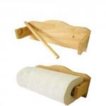 držák na kuch. utěrky 26,5x8,5x13cm kaučuk. dřevo, závěsný