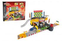 Garáž Creatix Racing Pitstop + 1 autíčko