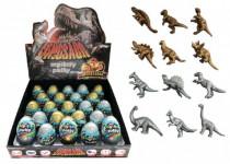 Sliz - hmota vajcia dinosaurus 7cm - mix variantov či farieb