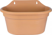 Elho obal Green Basics Wall Basket Medium - mild terra 30 cm - 5 ks