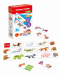 Hra školou® Sprievod zvieratiek kreatívne a náučná hra