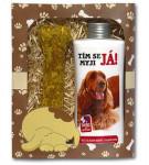 Dárkové balení pro psy - šampon + pamlsek s obrázkem kokršpaněla