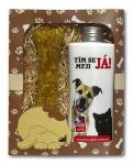 Dárkové balení pro kočky a psy - šampon + pamlsek s obrázkem psa a kočky