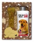 Dárkové balení pro psy - šampon + pamlsek s obrázkem labradora