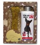 Dárkové balení pro psy - šampon + pamlsek s obrázkem pinče