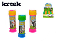 Bublifuk 50ml s hrkavkou Krtek 11cm - mix farieb