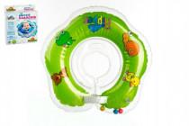 Plávacie nákrčník Flipper / Kruh zelený v krabici 17x20cm 0m +