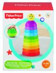 Fisher Price aktivní skládačka s rolničkou - mix variant či barev