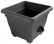 Flowerpot BERGAMOT self-watering plastic 30x30x24cm - VÝPREDAJ