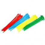 páska vázací 150x2,5mm (100ks) - mix barev