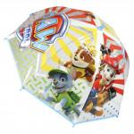 Deštník dětský Tlapková patrola modro/bílý