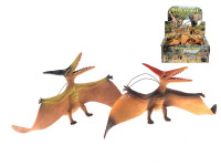 Pteranodon 31 cm na gumě - mix barev
