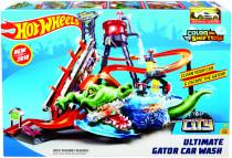 Hot Wheels city ultimátnej automyčka s aligátorom