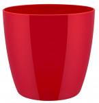Elho obal Brussels Diamond - lovely red 20 cm - 6 ks