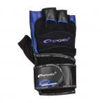 Spokey Miton fitness rukavice černo-modrá vel. L