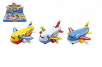 Lietadlo na kľúčik plast 10cm - mix variantov či farieb