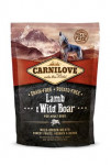 Carnilove Dog Lamb & Wild Boar for Adult NEW 1,5kg