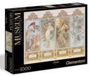 Puzzle Museum 1000 dílků Mucha