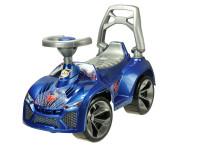 Auto odrážadlo modré 70x45x29 cm s klaksónom max. 30 kg
