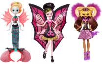 Monster High příšerka fanstraštická proměna - mix variant či barev