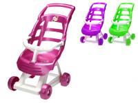 Kočárek sportovní 47x51x30 cm - mix barev
