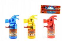Vodné pištole hasiaci prístroj plast 11cm - mix farieb