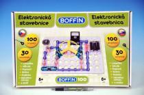 Stavebnica Boffin 100 elektronická 100 projektov na batérie