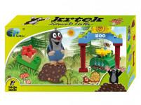 Krtek sada Basic (12 kostek+1x figurka Krtek)