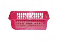 košík stohovateľný 20x12x 6cm plastový (malý) - mix farieb