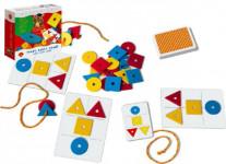 Tvary, barvy, paměť společenská hra naučná
