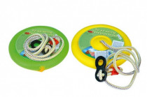 Houpačka Jojo kruh na zavěšení průměr 27cm nosnost 50kg - mix barev