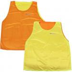 Spokey Shiny D vesta žlutá/oranžová oboustranná S