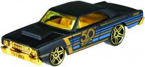 Hot Wheels tématické auto - 50. let výročí black & gold - mix variant či barev